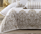 Linen House Couture Queen Quilt Cover Set - Gold 2