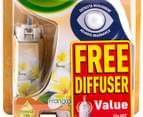 Air Wick Freshmatic i-Motion Compact Pack/FREE Diffuser Frangipani 13g  2