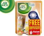 Air Wick Freshmatic i-Motion Compact Pack/FREE Diffuser Frangipani 13g  1