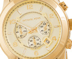 Michael Kors Runway Large Chronograph Watch - Gold 2
