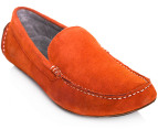 Julius Marlow Men's Apache Shoe - Orange Suede  7