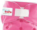 ones&twos Girls' Cloth Nappy 5-Pack 2