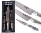 Global Classic 3 Piece Knife Set 1