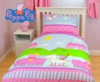 Peppa Pig Single Quilt Cover Set 1