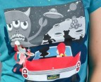 Paul Frank At the Drive-In Tee - Teal 2