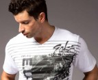 Men's Ecko T-Shirt - Crash Course White 2