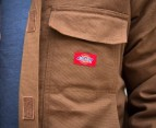 Dickies Washed Arctic Region Jacket- Brown 2