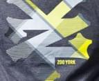 Zoo York Men's Logo Tee in Grey Haze 3