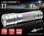 Lenser LED T7 Torch Titanium Finish 1