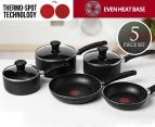 Tefal 5-Piece Non-Stick Essentials Cookset 1