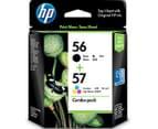 HP 56/57 Ink Cartridge - Black+Tricolour 1