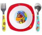 Lamaze 4-Piece Child Feeding Set - Red 3