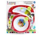 Lamaze 4-Piece Child Feeding Set - Red 1