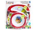 Lamaze 4-Piece Child Feeding Set - Red 4