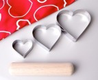 Custard Pie Cookie Making Kit - Hearts 2