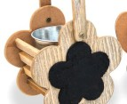 Assorted Plant Holders w/ Plate 2- Pack 2