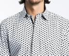 Men's English Laundry Lennon Shirt - White Dot 3