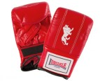 Lonsdale Professional LBE115 Bag Gloves - Red 1