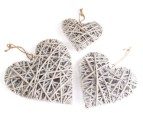 Nested Rustic Hearts 3-Piece Set 1