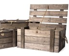 Crate-Style Wooden Lidded Boxes 3-Piece Set 2