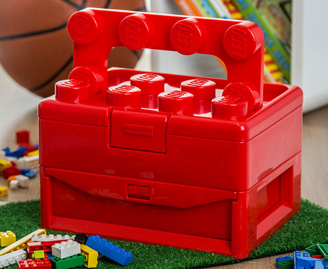Catch.com.au | LEGO Brick Storage 23 X 17 X 16cm Carry Case