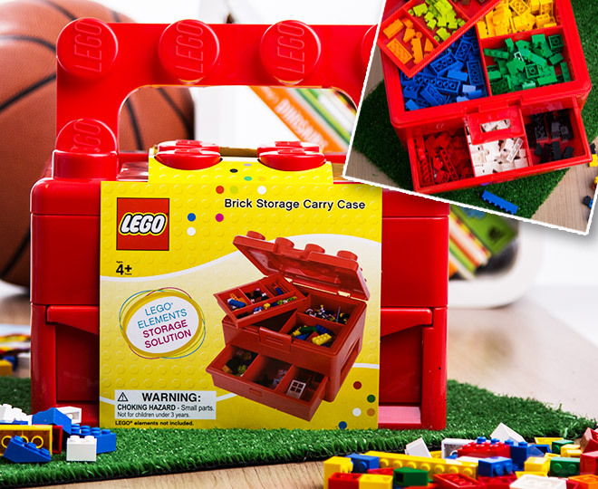Beautiful Catch.com.au | LEGO Brick Storage 23 X 17 X 16cm Carry Case