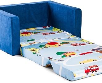Kids Wide 2 Seater Flip Out Sofa Transport Catch Com Au